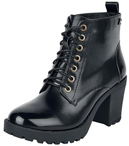 Refresh Glossy Boot Anfibi/Stivali nero EU40