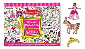 Melissa & Doug Sticker Collection - Pink