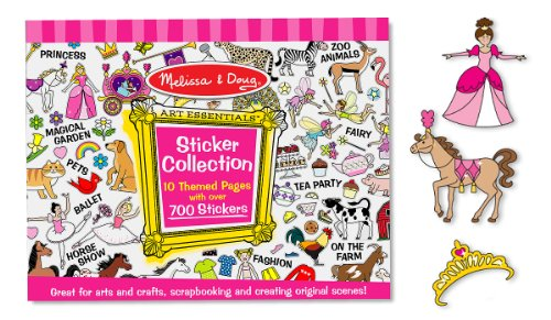 Melissa & Doug Sticker Collection - Pink front-10180