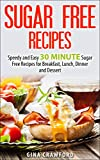 Sugar Free Recipes: Speedy and Easy 30 MINUTE Sugar Free Recipes for Breakfast, Lunch, Dinner and Dessert - Sugar Detox Diet Support