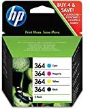 HP SD534EE NO 364 Combo-pack Cyan/Magenta/Yellow/Black Inkjet / getto d'inchiostro Cartuccia originale