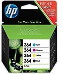 HP 364 Cartouche d'encre d'origine Pa...