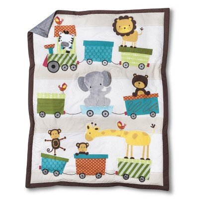 Lambs & Ivy Choo Choo 3pc Crib Set - 1