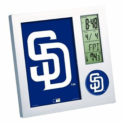 MLB San Diego Padres Digital Desk Clock