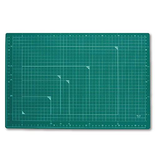 プラス カッティングマット A3サイズ グリーン CS-A3 GR 48-584