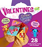 Peaceable Kingdom / Valentine Cootie Catcher Super Valentine Card Pack