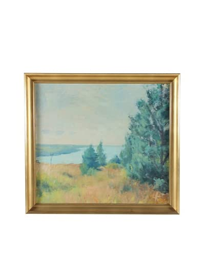 Landscape, 1955 Framed Artwork