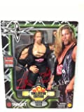 """KEVIN NASH - WCW WORLD CHAMPIONSHIP WRESTLING - 8"""" POSEABLE FIGURE WITH FABRIC COSTUME - TOY BIZ - 1999- TARGET EXCLUSIVE"""