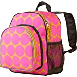 Wildkin Big Dots Hot Pink Pack 'n Snack Backpack