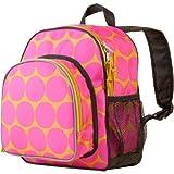 Wildkin Big Dots Hot Pink Pack 'n Snack Backpack