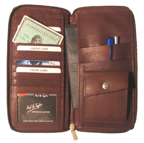 Leather Travel Wallet by Paul & Taylor - Buy Leather Travel Wallet by Paul & Taylor - Purchase Leather Travel Wallet by Paul & Taylor (Paul & Taylor, Apparel, Departments, Accessories, Wallets, Money & Key Organizers, Billfolds & Wallets, Card Holders)