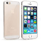 Yousave Accessories iPhone 5S H�lle Klare Ultrad�nne Silikon Gel Schutzh�lle
