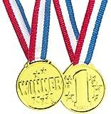Winner Medals (Pack of 12)
