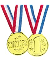 Winner Medals (Pack of 12)