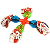 Pawzone Four Treat Pods Rope Toy