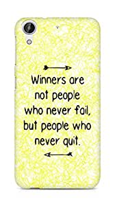 AMEZ but people who never quit Back Cover For HTC Desire 626 LTE