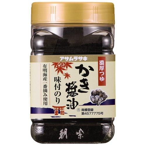 Asamerasaki or き醤油 seasoned seaweed 8切 72 sheets