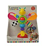 """Lamaze Babyspielzeug """"Freddie, das Glühwürmchen"""" mehrfarbig - hochwertiges Hochstuhlspielzeug - vereint Rassel und Greifling - fördert die Motorik Ihres Kindes - ab 6 Monate hergestellt von Tomy"""