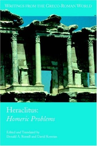 Heraclitus: Homeric Problems (Writings from the Greco-Roman World)