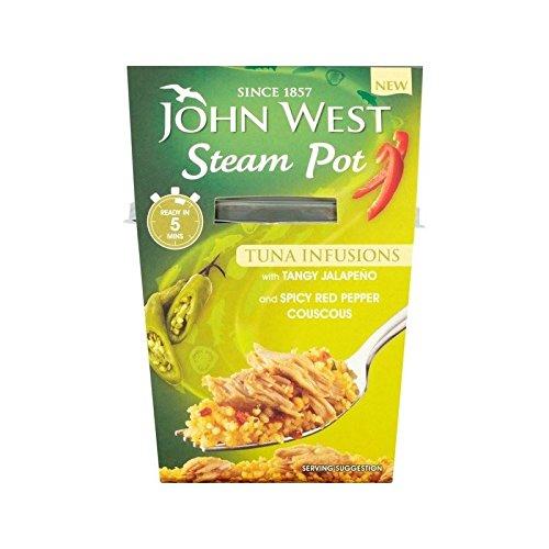 John West A Vapore Pentola Jalapeno 150G - Confezione da 2