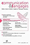 Communication & Langages, N� 137/Octobre 2003 : Communication & Langages : M�dias, Internet, Publicit�, Graphisme, Sociologie, Formation