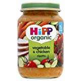 Hipp Vegetable & Chicken Risotto 190g - CLF-HIP-6510
