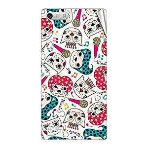 Garmor Designer Mobile Skin Sticker For Huawei C199 - Mobile Sticker