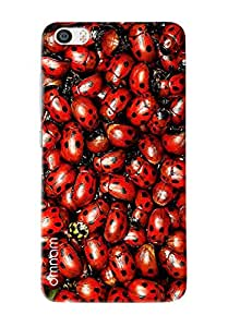 Omnam Pattern Made Of Insects Printed Designer Back Cover Case For Xiaomi Mi5