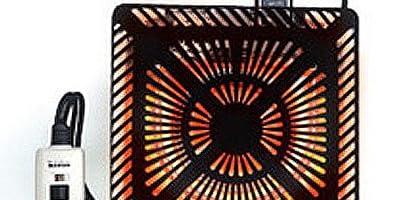 メトロ(METRO) こたつ用取替えヒーター U字型コルチェヒーター 手元温度コントロール式 MQU-600E(K)