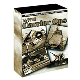 WWII Carrier Ops for Microsoft Flight Sim 2004 and 2002