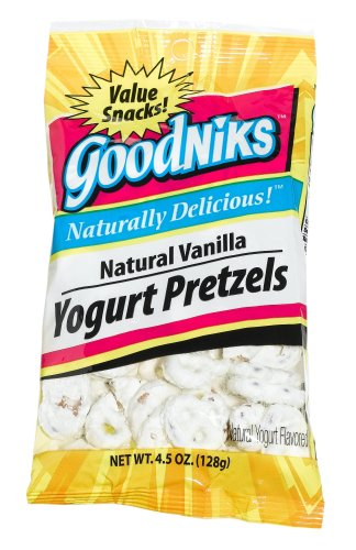 Buy Good Sense Goodniks, Yogurt Prezels, 4.5-Ounce Bags (Pack of 12) (Good Sense, Health & Personal Care, Products, Food & Snacks, Snacks Cookies & Candy, Candy)