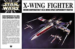 Star Wars X-Wing Japanese Collectible 1/72-Scale Model Kit