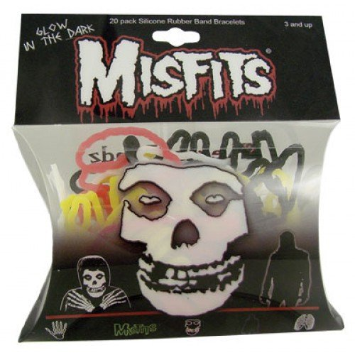 51WXKnLgblL Cheap Buy  Misfits Silicone Shaped Rubber Bracelets