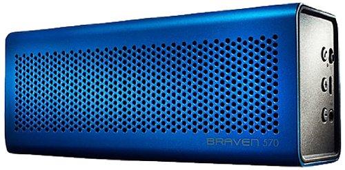 Braven 570 Portable Wireless Speaker - Blue Black Friday & Cyber Monday 2014
