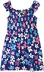 Hatley Little Girls' Smocked Dress Summer Garden