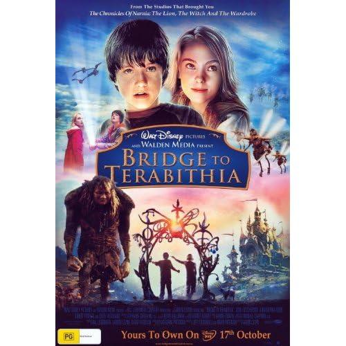 Bridge to Terabithia Movie Cover Bridge to Terabithia Movie