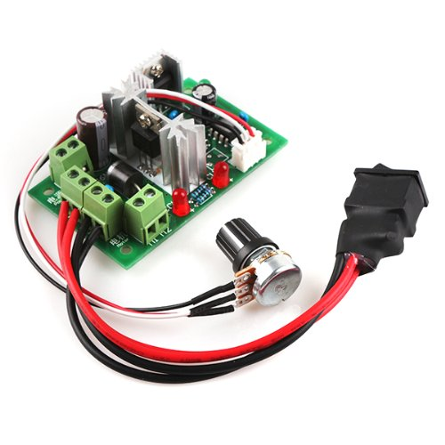 Generic Reversible 6V-30V 6A Pulse Width Pwm Dc Motor Speed Controller Governor