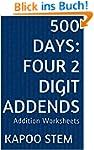 500 Days Math Addition Series: Four 2...