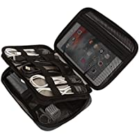 BAGSMART Double-layer Travel Cable Organizer Cases (Black)