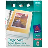 Avery Diamond Clear Page Size Sheet Protectors, Acid Free, Box of 50 (74203)