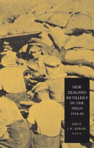 新西兰炮兵领域: 新西兰火炮,1914年-1918 年的历史