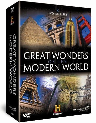 GREAT WONDERS OF THE MODERN WORLD [IMPORT ANGLAIS] (IMPORT)  (COFFRET DE 8 DVD)