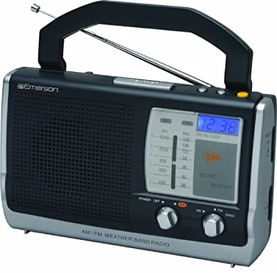 Emerson RP6251 Portable Weather Clock Radio from Emerson
