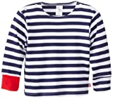 Zutano Baby-Boys Infant Primary Stripe Long Sleeve Sailing T-Shirt