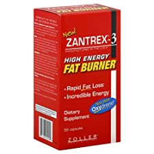 Zantrex-3 Fat Burner, High Energy, Capsules, 56 ct.