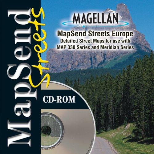 Magellan MapSend Streets EuropeB0000683BX : image