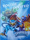 Skylanders Invitations and Thank You Post Cards (8 Count)