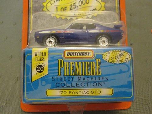 70 Pontiac GTO Matchbox Premiere Series 20 Street Machines Collection - 1