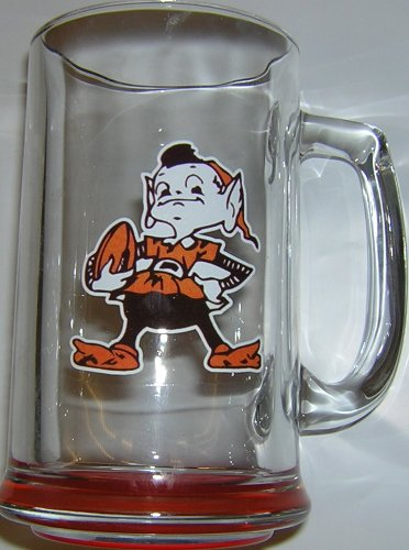 Cleveland Browns Brownie Elf Highlight Beer Handle Mug at Amazon.com