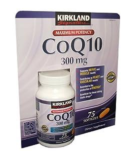 Kirkland coq10 coenzyme 300 mg 75 softgels for Kirkland fish oil reviews
